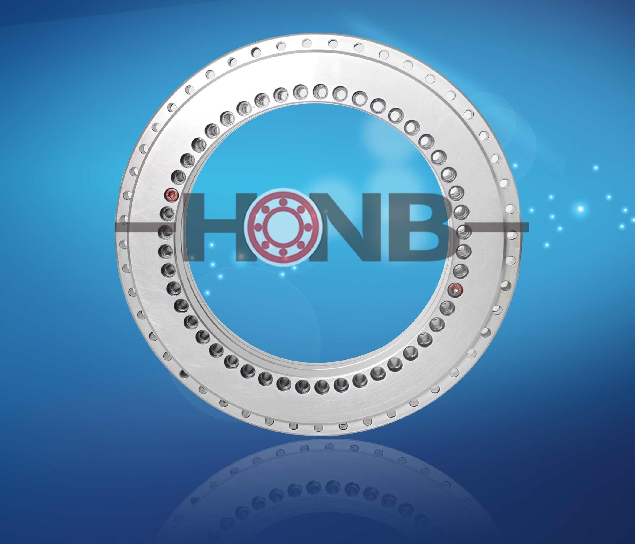 Application of rotary table bearing on rotary table