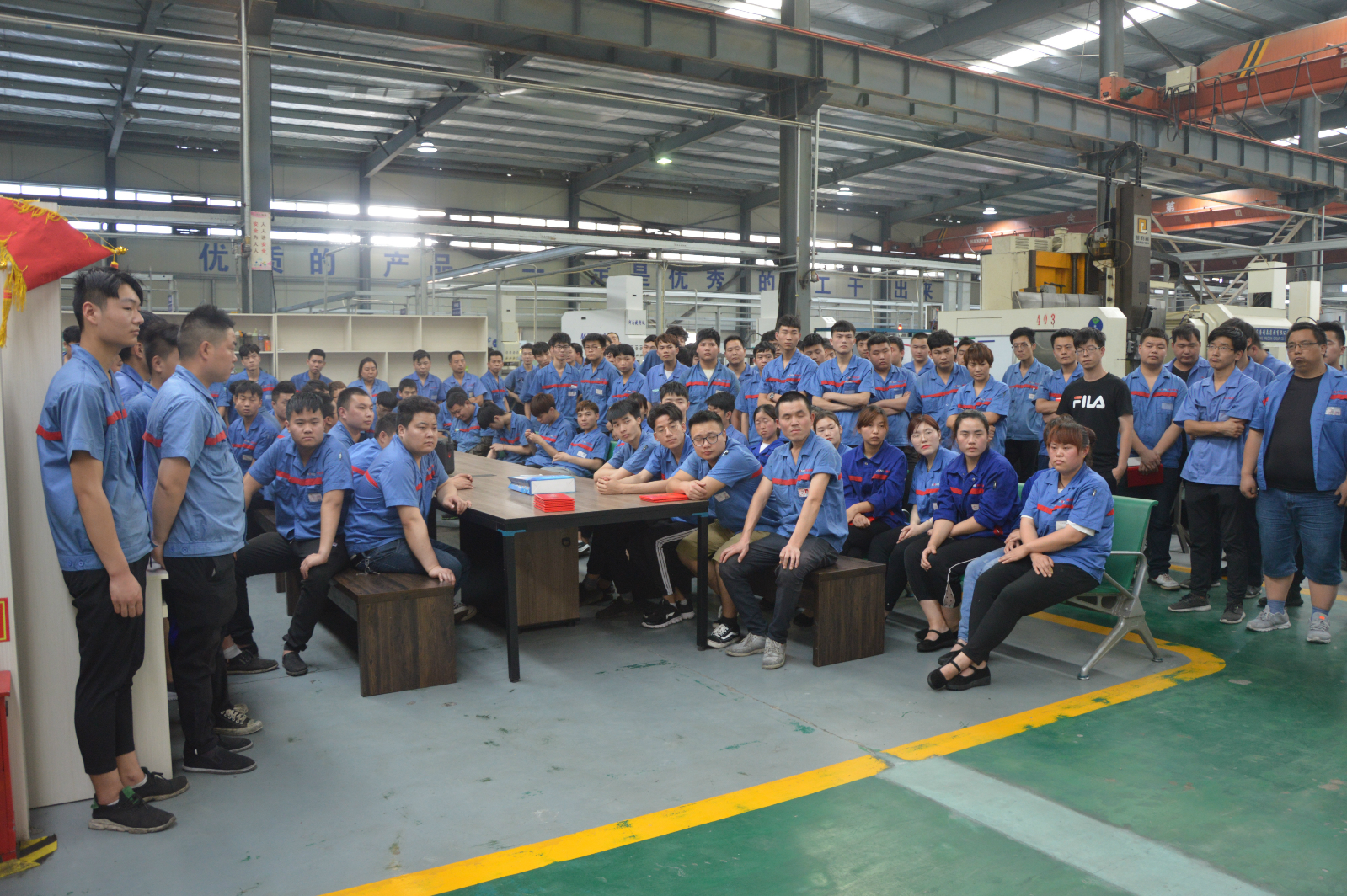 Luoyang Hongyuan Bearing held the second phase of the new em
